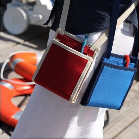 Le Ti Sac, un petit sac bandoulière léger et discret, ici le modèle Croisière