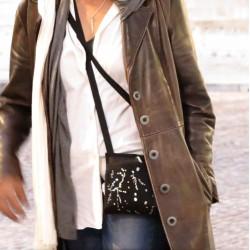 Un sac bandoulière chic ou une sacoche de soirée qui sait rester discrète sous une veste dans les transports ~ Made in France