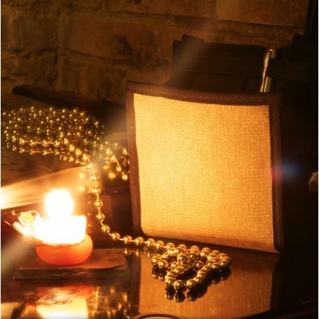 Le Ti Sac Doré, une pochette pour les fêtes et à offrir, mais pas uniquement