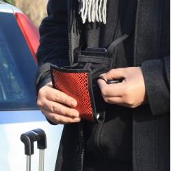 Gardez les mains libres grâce à ce sac léger et pratique - Petit sac idéal pour voyager - Bandoulière réglable