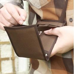 Un petit sac bandoulière femme aux compartiments bien pensés - Produit breveté - Pratique et astucieux ~ Made in France