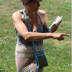 Le Tisac Eau, une petite sacoche au look naturel et chic, fabriqué en France
