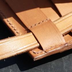 Le Ti Sac ne laisse pas indifférent avec ses finitions haut de gamme et son cuir de premier choix au tannage végétal