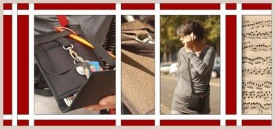 Sacoche sécurisée et intemporelle pour un quotidien pratique